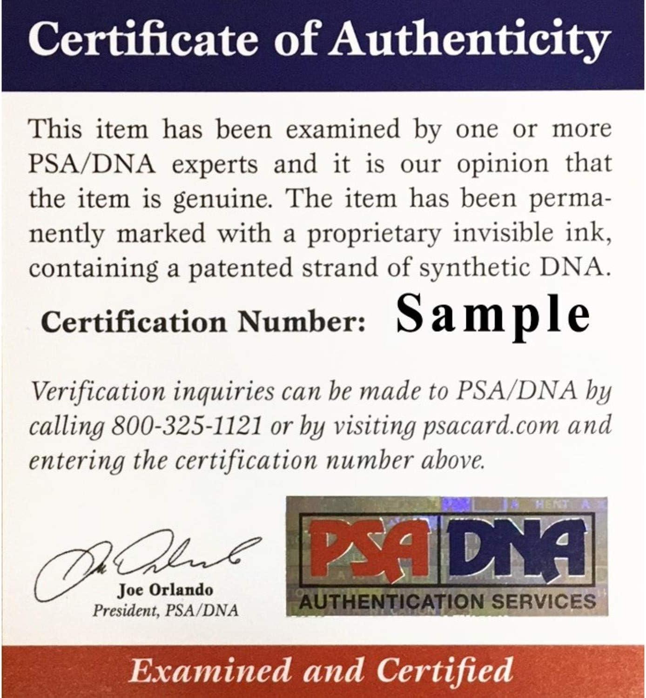 Odell Beckham Jr Autographed Cleveland Browns Signed White Panel Logo Football PSA DNA COA