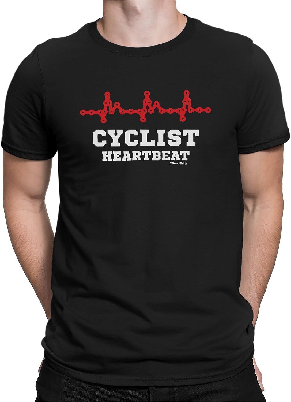 Mountain Bike Heartbeat Pulse Cycling WOMENS T-SHIRT Cycle Funny birthday gift