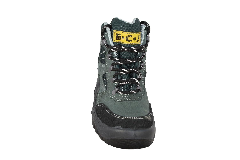 ECJ Cordura S1P Berufsschuhe Berufsschuhe S1P Arbeitsschuhe hoch Grün B-Ware b7029f