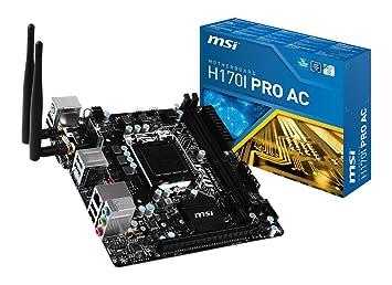 Driver: ASUS H170I-PRO Realtek LAN
