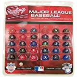 Jarden Sports Licensing MLB Major League Baseball Deluxe Helmet Standings Board, Mini, Red