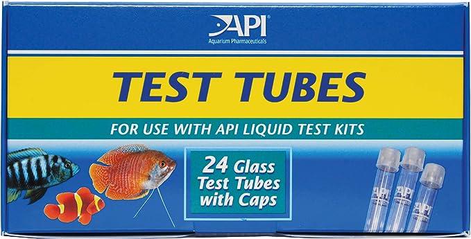 API Replacement Test Tubes with Caps (24 Count): Amazon.com.mx: Mascotas