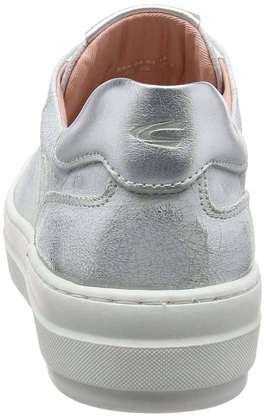 Camel active Damen Top Weiß 74 Sneakers Weiß Top (Weiß-silver 01) bc1cb6