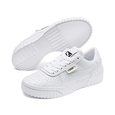 f1d62ce86345c Amazon.com | Puma Women's Cali WN's Low-Top Sneakers, White 01, 4.5 ...