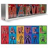 超変換!! もじバケる MARVEL Complete Box (4個入) 食玩・清涼菓子 (MARVEL)