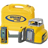 Spectra Precision Laser LL300-4 Automatic Self-leveling Level w/HR350 Receiver, NiCad Rechargeable Batteries