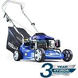 Hyundai  99cc 4-stroke Petrol Push Rotary Lawn Mower 40cm cutting width HYM400P
