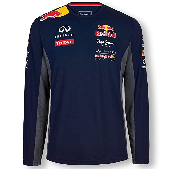 Pepe Red Bull Racing Collection OTL LS Functional Men, Camiseta para Hombre