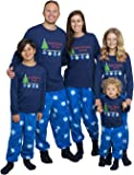 Mad Dog Concepts Matching Set Family Christmas Holiday Pajamas + Slipper Socks