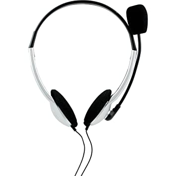 Amazon Com Onn Universal Stereo Headset Headphones With Microphone