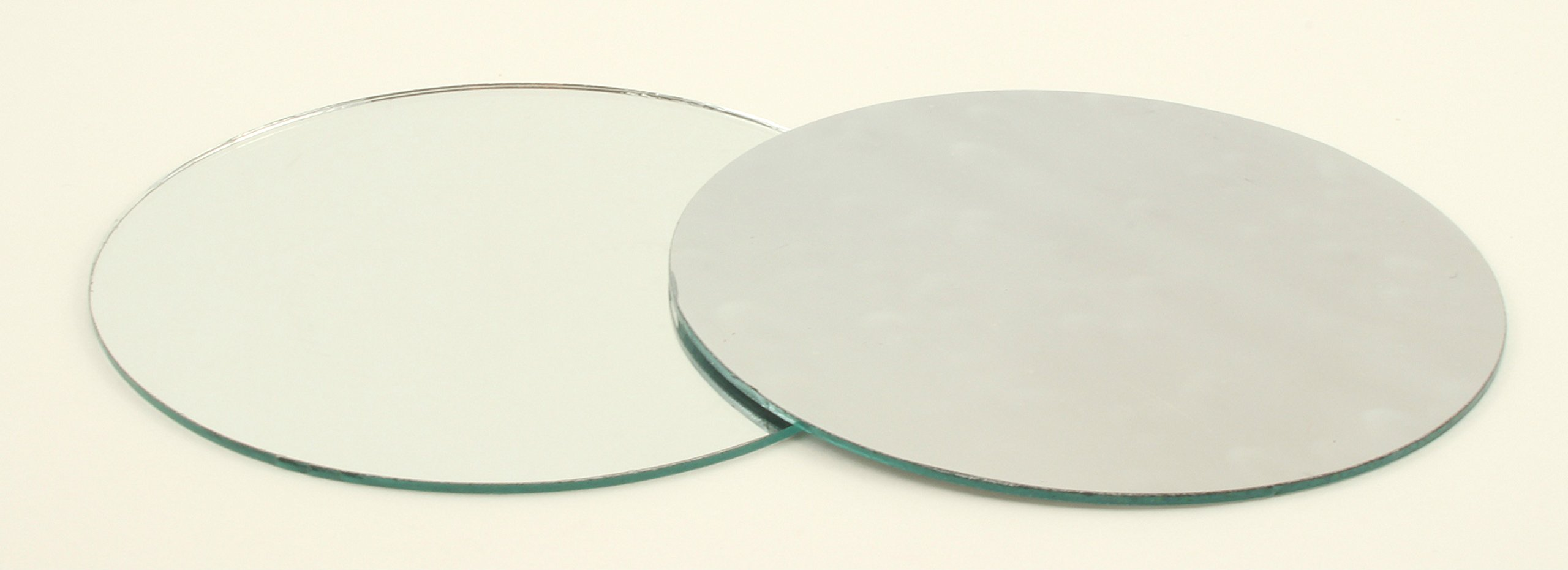 Art Cove 6 inch Large Round Craft Mirrors 12 Piece Also Mirror Mosaic Tiles by Art Cove