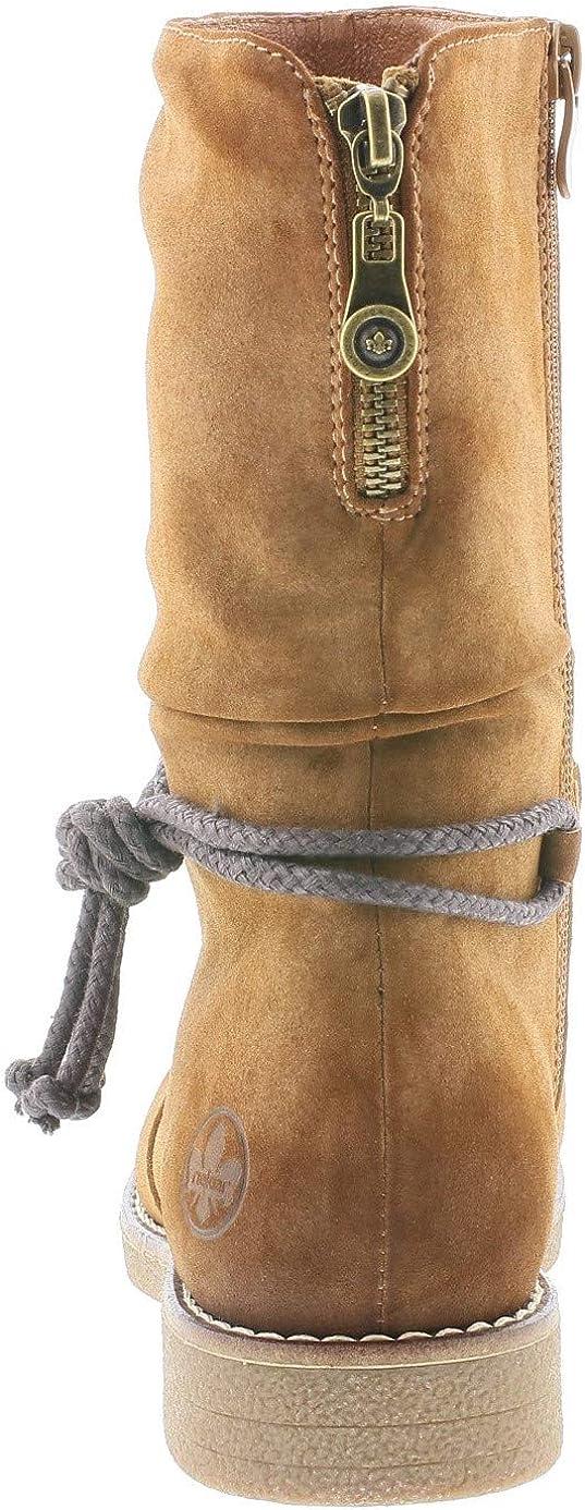 Rieker Femme Bottes, Boots 97883, Dame Bottes d'hiver
