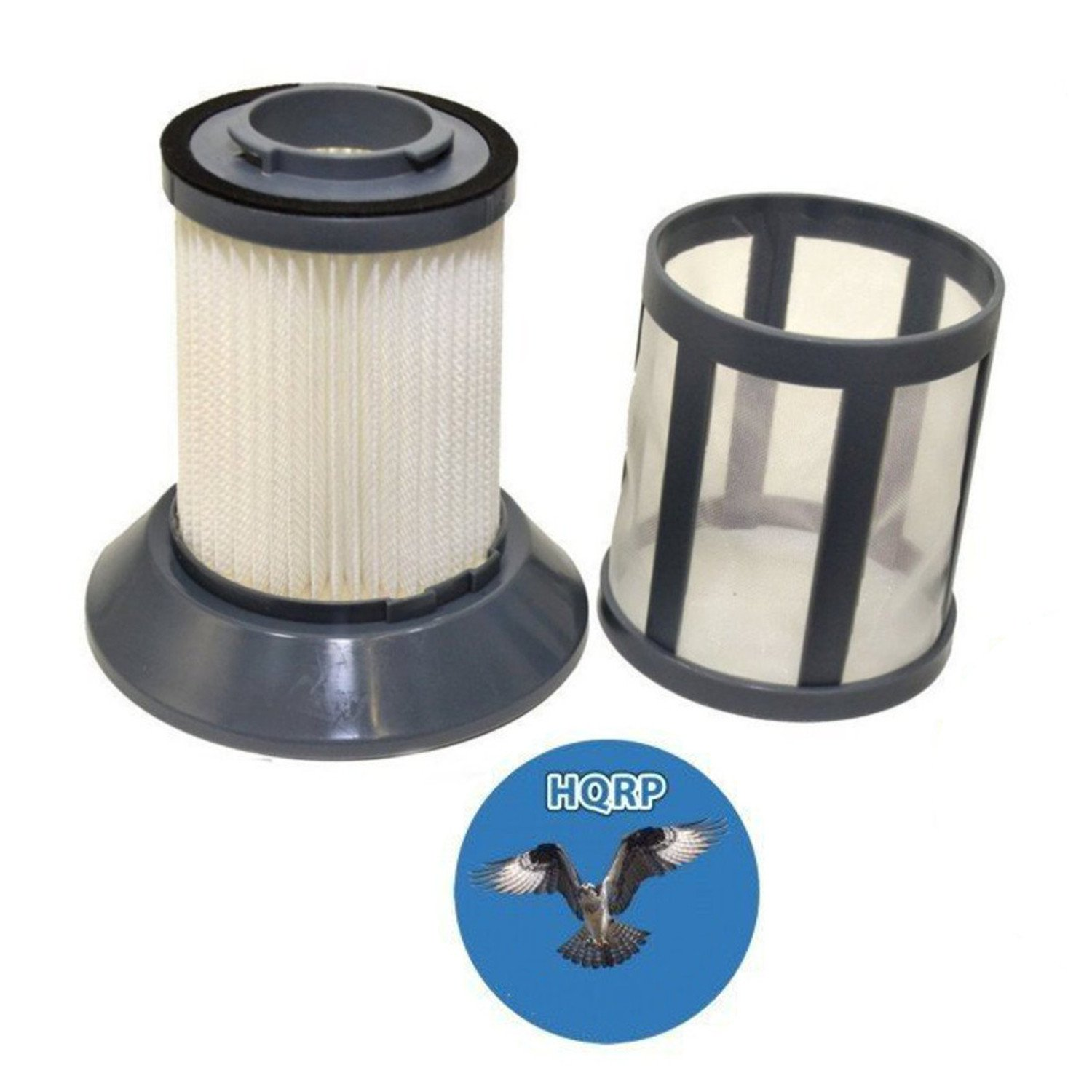 HQRP Dirt Tank Filter w/ Screen for Bissell 1608602 fits Zing 1665 16652 Bagless Canister Vacuum Cleaner plus HQRP Coaster 884667807251701