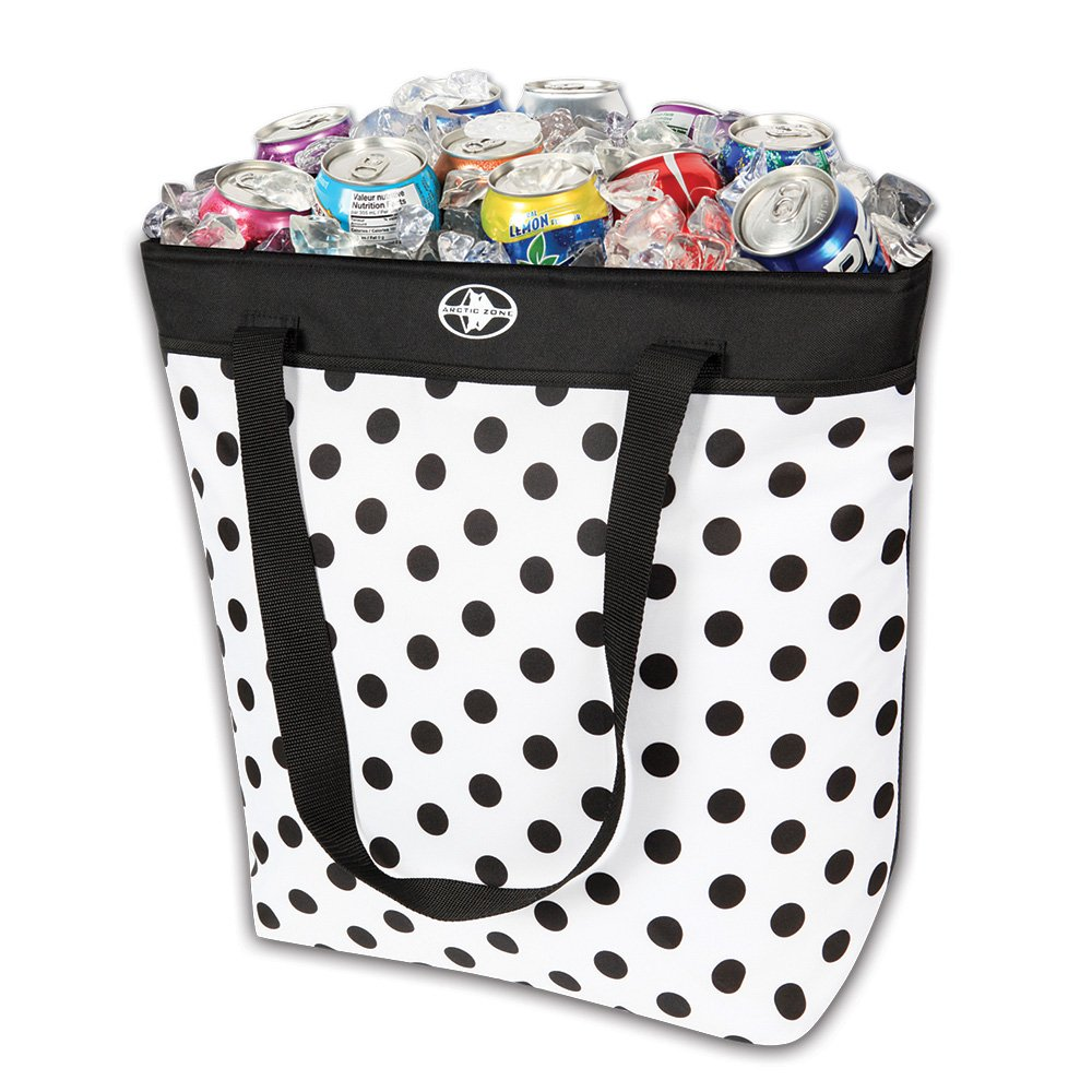 Arctic Zone 50 Can Dots Thermal Tote