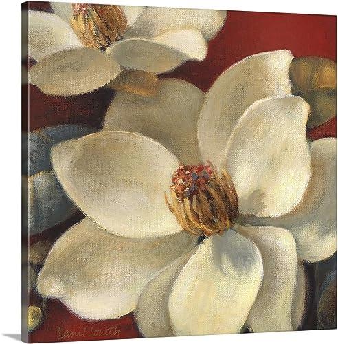 Magnolia Passion I Canvas Wall Art Print