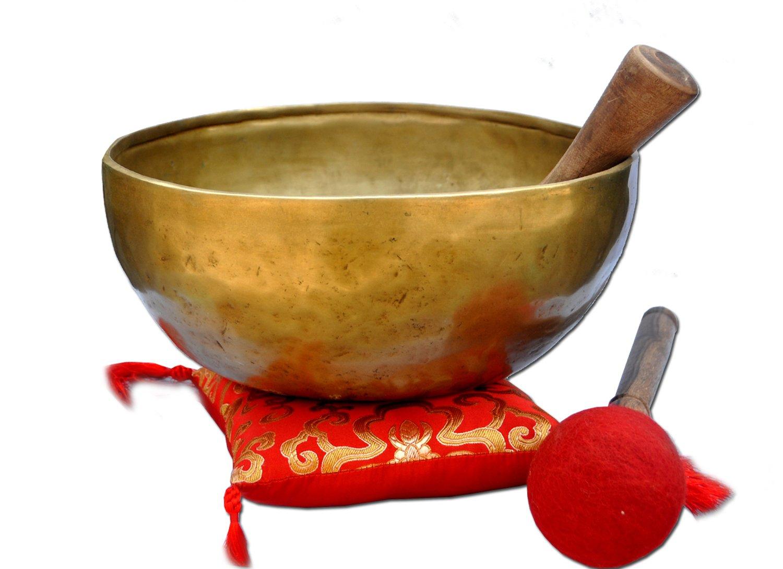 9'' G Throat Chakra Old Tibetan Singing Bowl,massive mater healing singing bowl,meditation bowl from Tibet,Handmade singing bowls.