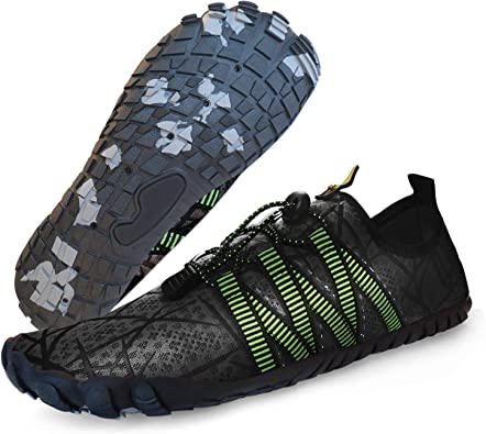 uunisex Water Shoes,Womens Mens Non-Slip Athletic Water Shoes Quick-Dry Aqua Socks Barefoot Outdoor Sport Shoes Swim Surf Exercise