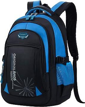 Mochilas Escolares Azul Fanspack Mochila Viaje Mochila Ni/ño Mochilas Infantiles Mochila Impermeable