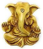 """Lify 2"""" Lord Ganesh/Ganesha Statue Sculpted in Great Detail with Antique Finish – Ganesh Idol for Car/Home Decor/Mandir/Gift. Hindu God Idol- 1 Piece"""