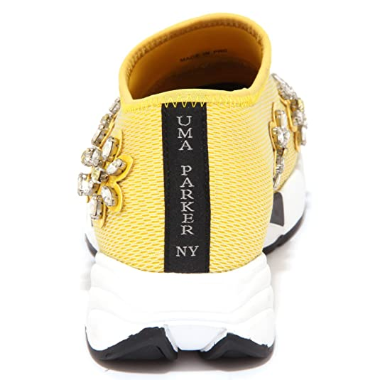 8976P sneaker donna UMA PARKER sleep on yellow giallo shoe woman [36] Qe9qpun