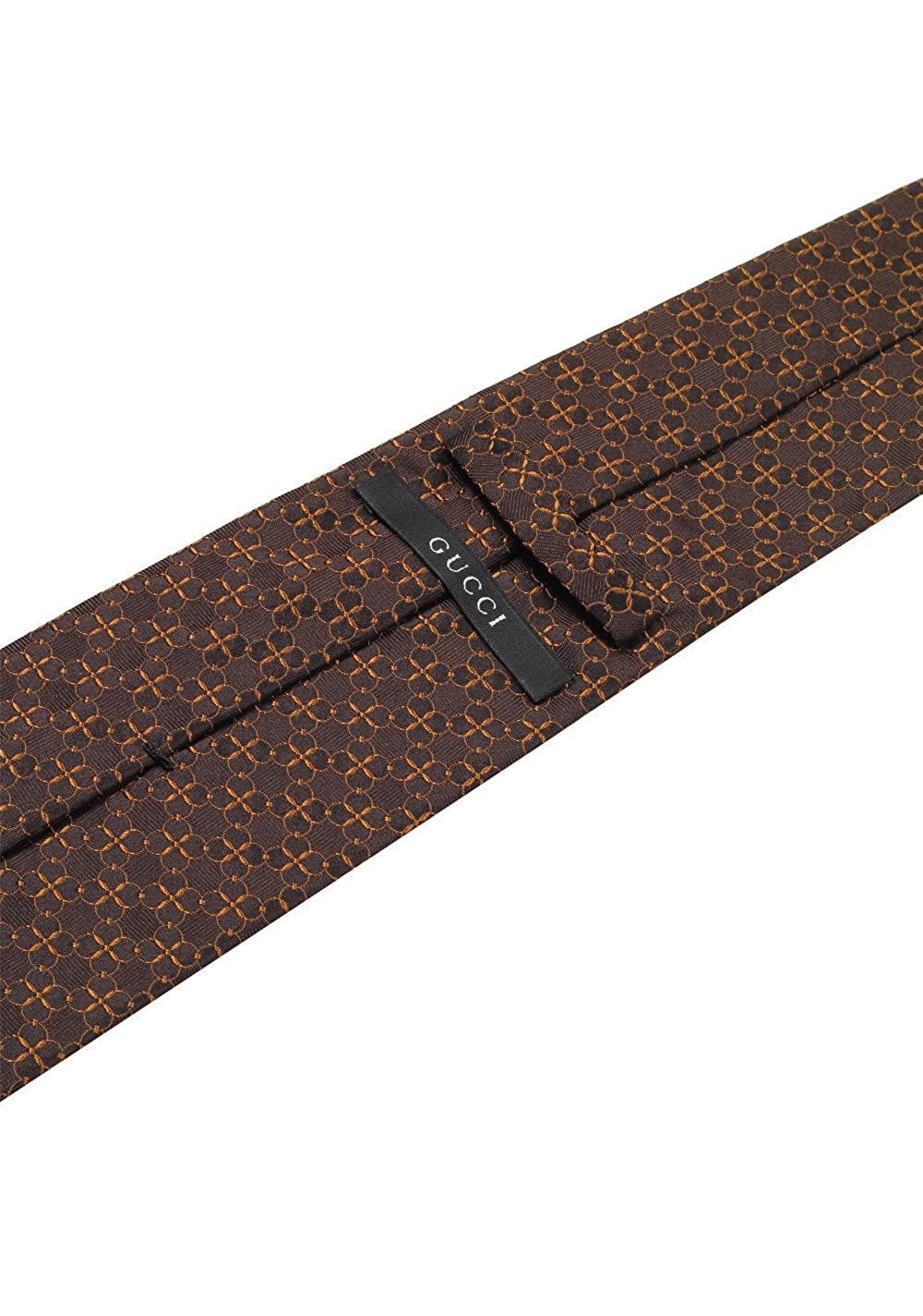 Gucci CL Brown Patterned Chain Tie: Amazon.es: Ropa y accesorios
