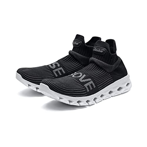 Jazba Sock Shoes Men Slip on Sneakers Sockun Running Fashion Shoe Knitted Comfort Crossfit Trainers Lightweight for Yoga Workout Travel Sports Casual ...