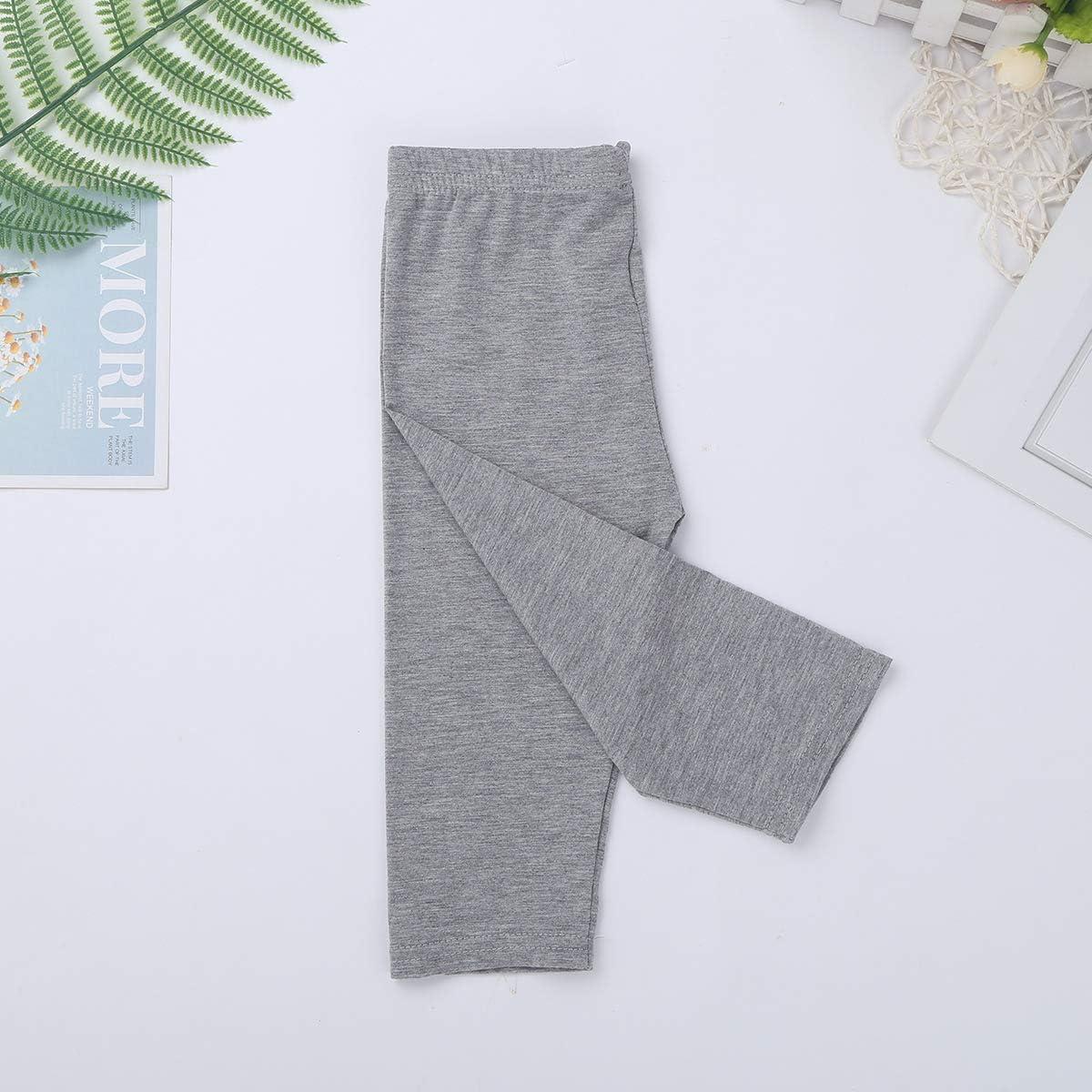 TiaoBug Leggins Mallas para Ni/ñas Pantalones Largos Deportivas de Modal para Danza Gimnasia Yoga Fitness El/ástica Medias Cintura El/ástica Ropa Deportes