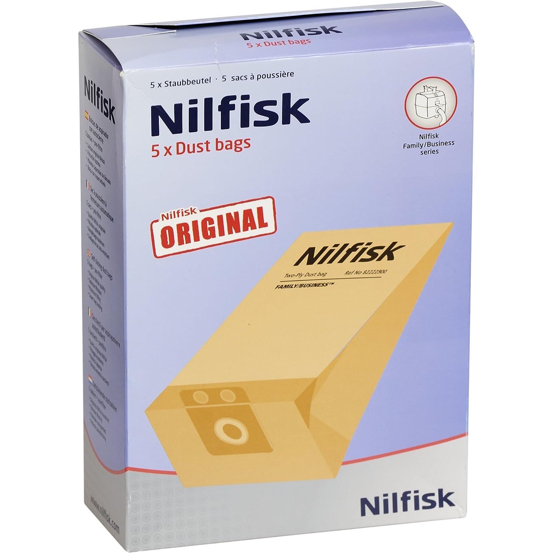 Nilfisk 82222900 Lot de 5 sacs Extreme pour aspirateur