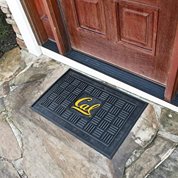 Fan Mats UC Berkeley Door Mat Black/Yellow 18 X 30 & Amazon.com : Fan Mats UC Berkeley Door Mat Black/Yellow 18 X 30 ... pezcame.com