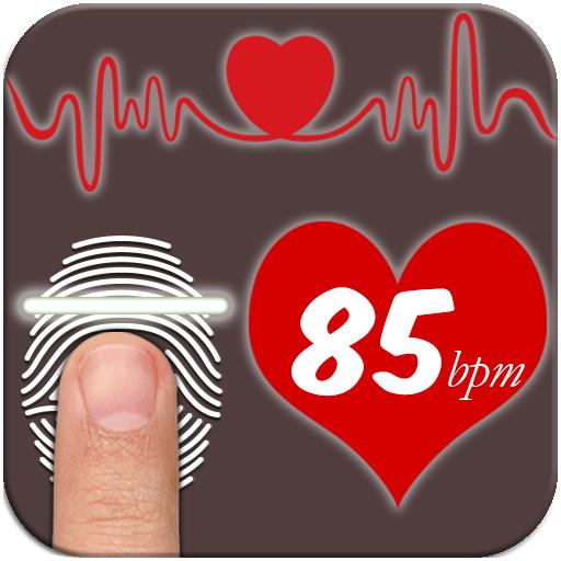 Heart Cast - Fingerprint Heartbeat Checker Prank - Heart Rate Monitor