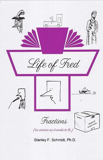 Amazon.com: Life of Fred Set # 1, 4-Book Set : Fractions, Decimals ...