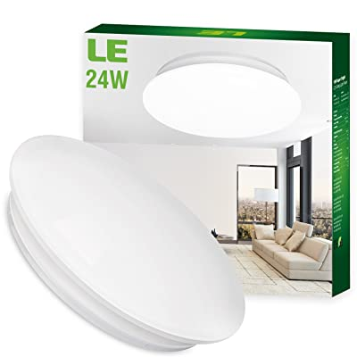 le 24w 16 inch daylight white led ceiling lights