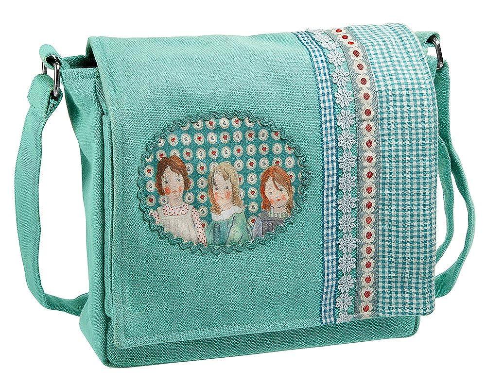 Wendekreis Berlin Canvastasche Kindertasche Kindergartentasche Vintage Girl