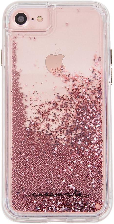 iPhone 6S Gold Glitter effect
