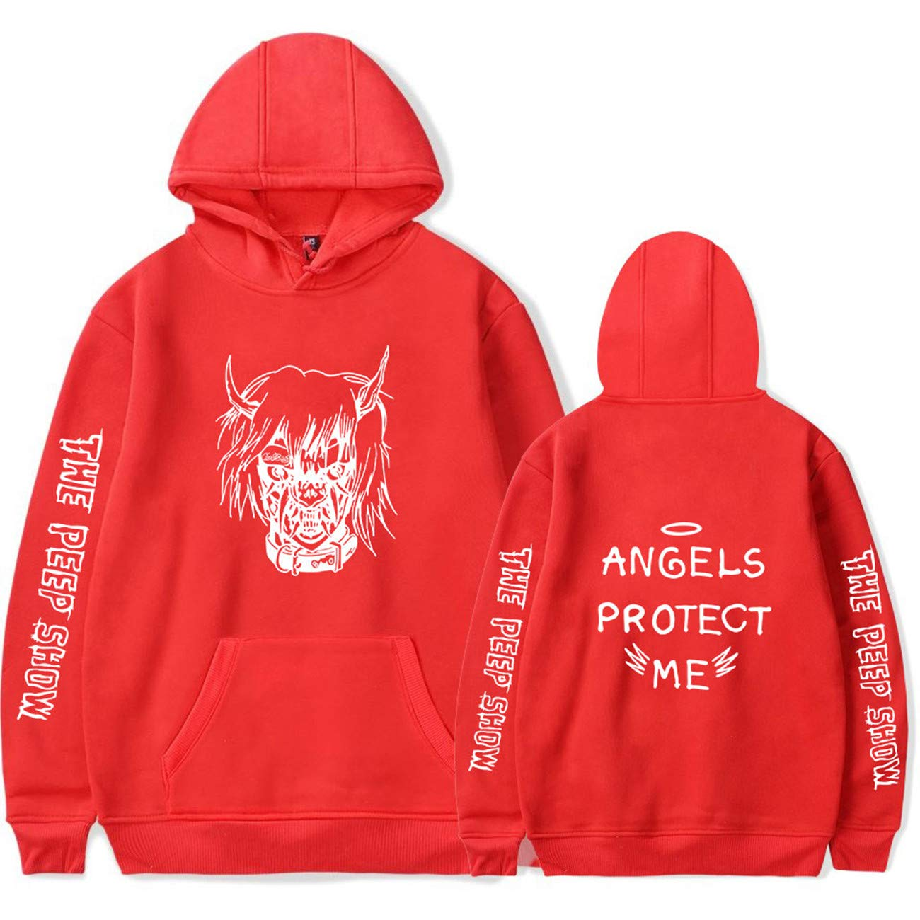 SERAPHY Unisex R.I.P Lil Peep Rapper Hip Hop Sweatshirts Hoodie Print Clothes LP-9995-DM-CA
