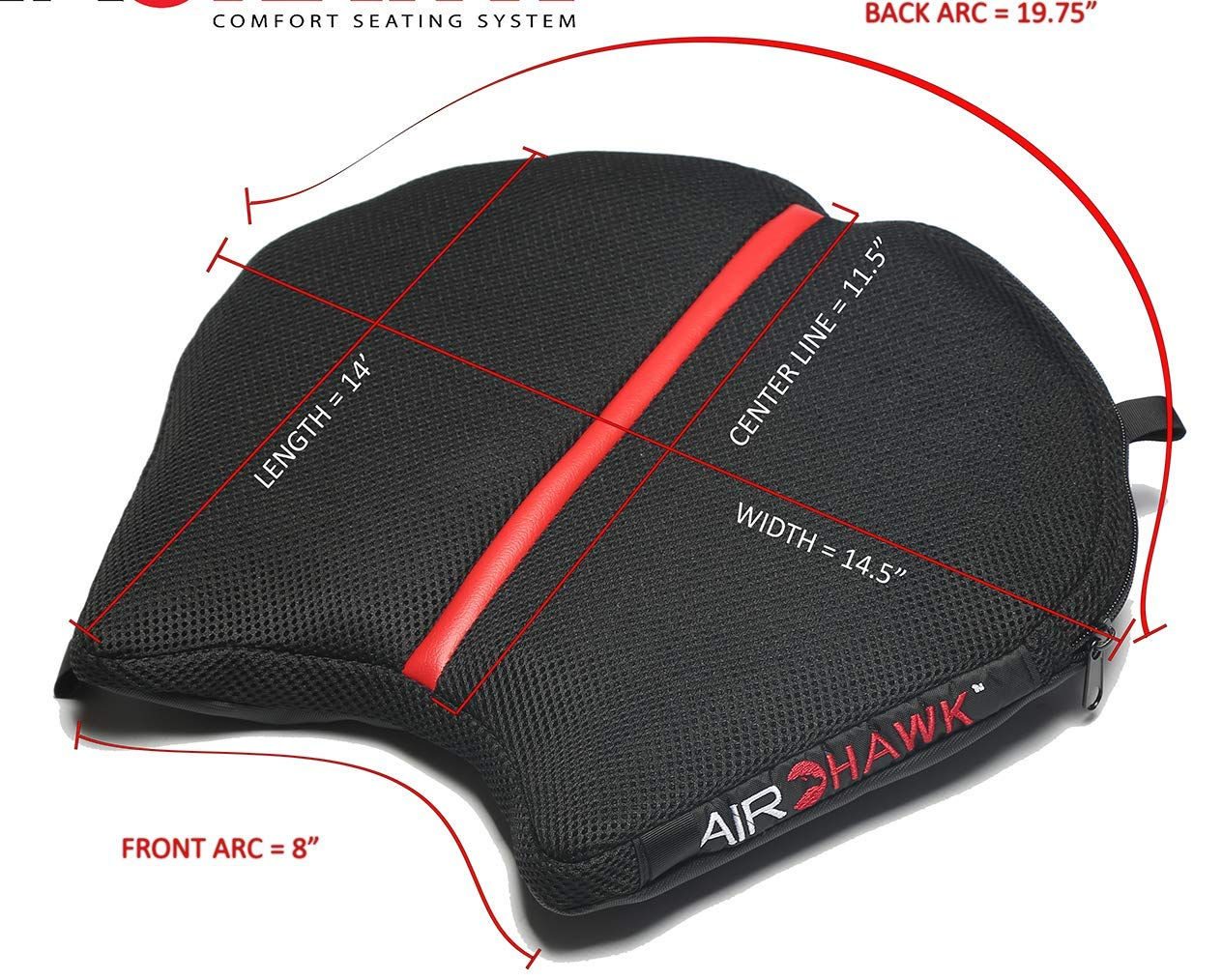 Amazon.com: Airhawk R-REVB Cruiser R - Cojín grande para ...