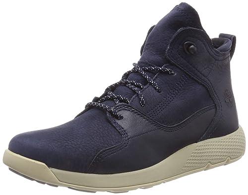 d6b1f26acb2 Timberland Flyroam Leather Hiker Chaussures de Randonnée Basses ...