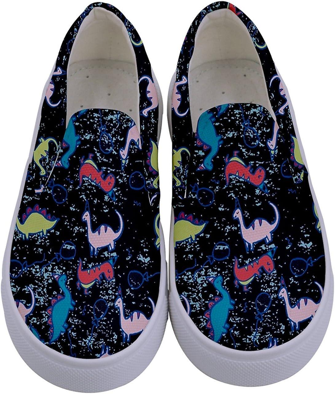 Kids Canvas Slip-on Shoes Size:US8C-7Y