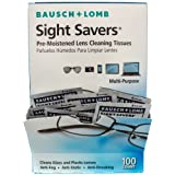 Bausch and Lomb Sight Savers 预保湿镜头清洁纸 100份 100