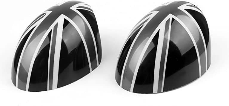 Bruce /& Shark 2 x Union Jack WING Mirror Covers for MINI Cooper R55 R56 R60 Power Fold Mirror