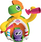 TOMY E72728 Toomies Turtle Bath Salon - Bubble Bath Hair Dresser Toy - Suitable From 3 years