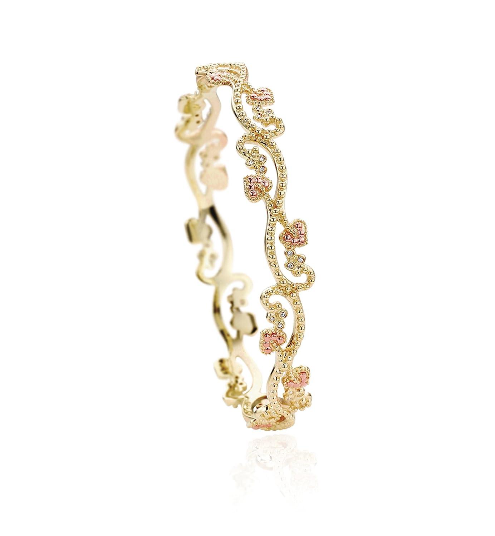 Clogau Gold 9ct Gold Bangle: Amazon.co.uk: Jewellery