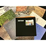 SHOTBOX - Art PANELS Complete Set. 4 Sets of Original Photography Background Paper for Table Top Product Photography - 48 Prints on Matte Finish Vinyl. For use with SHOTBOX