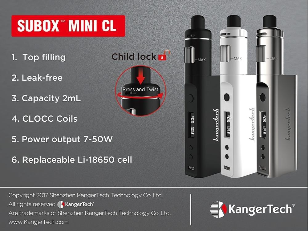Kangertech Subox Mini Cl Tpd 50w Rosegold Amazon Health