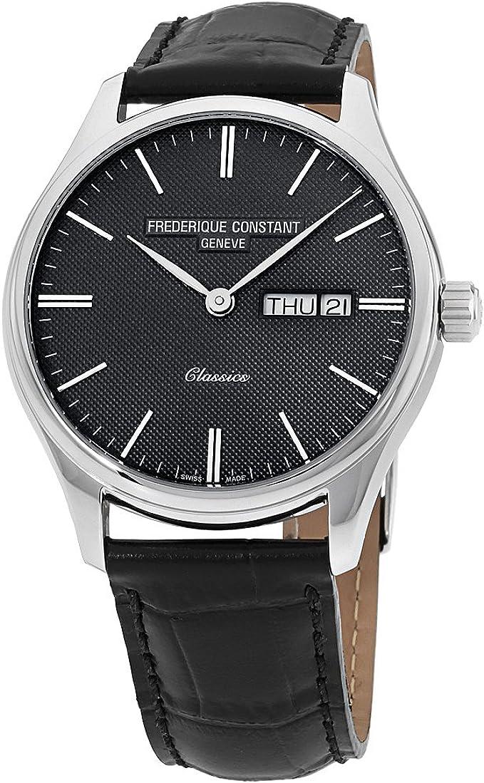 Orologio uomo solo tempo classic quarzo swiss made - frederique constant FC-225GT5B6