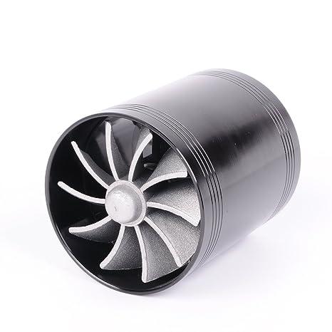 Wotefusi coche nuevo Universal Super Dual de doble turbina cargador de Turbo turboing de ahorro de