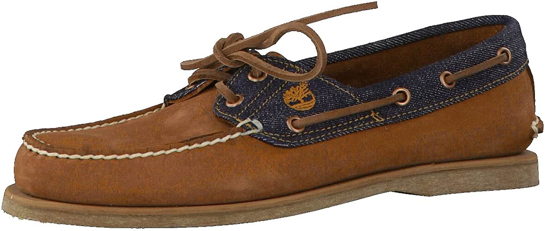 TALLA 42 EU. Timberland - Zapatos de Cordones de Piel para Hombre