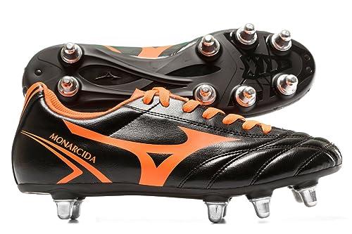 593d7485e MIZUNO MONARCIDA RUGBY SI R1GA177054 -Scarpe da rugby uomo nero-arancio:  MainApps: Amazon.it: Scarpe e borse