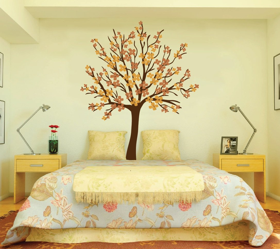 Amazon.com: Large Wall Tree Nursery Decal Dogwood Magnolia Cherry ...