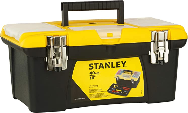 STANLEY 1-92-905 - Caja de Herramienta Jumbo con Bandeja: Amazon.es: Bricolaje y herramientas